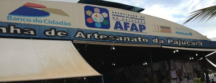 Feirinha de Artesanato da Pajuçara is one of maceió <3.
