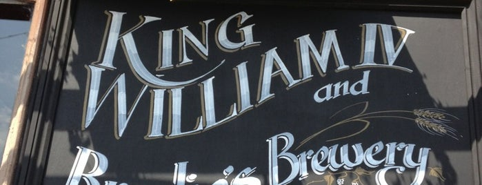 King William IV is one of Pubs - Brewpubs & Breweries.