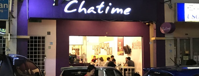 Chatime is one of Cafe & Kopitiam.