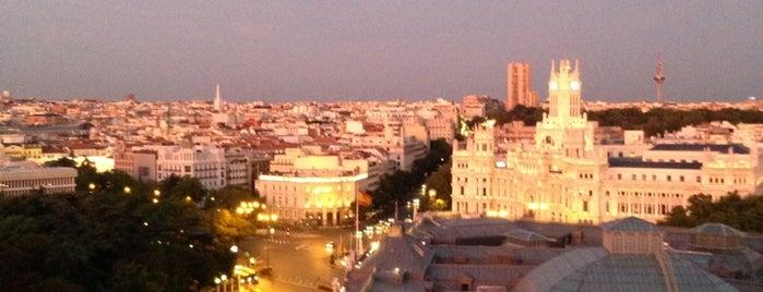 Azotea Círculo de Bellas Artes is one of Madrid.