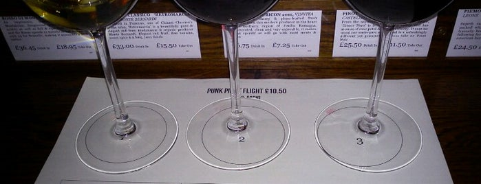 Vinoteca is one of London Wine Bars.