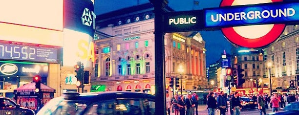 Piccadilly Circus is one of Harry Potter sights.