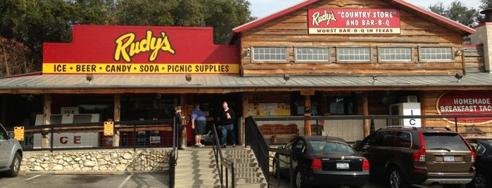 Rudy's Country Store & Bar-B-Q is one of Dog Friendly Restaurants.
