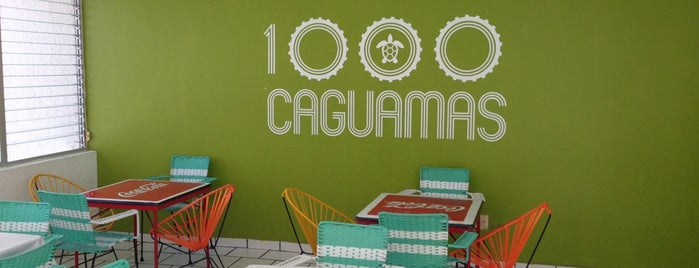 1000 Caguamas is one of Lugares para comer.