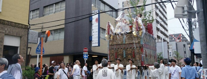 山伏山 is one of 祇園祭 - the Kyoto Gion Festival.