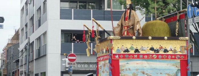 占出山 is one of 祇園祭 - the Kyoto Gion Festival.