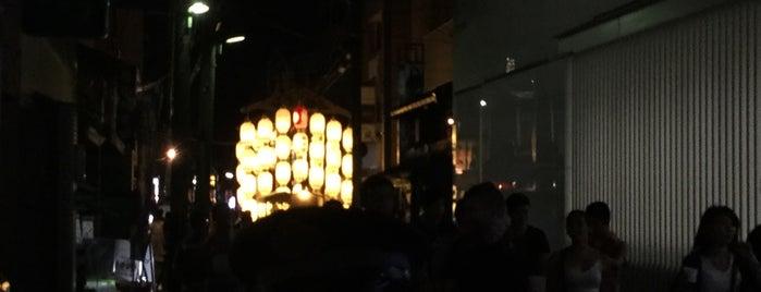 占出山 is one of Sanpo in Gion Matsuri.