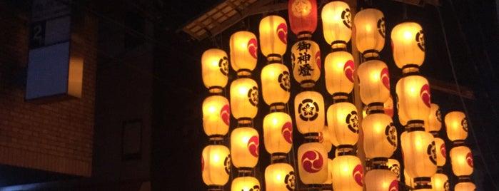 油天神山 is one of 祇園祭 - the Kyoto Gion Festival.