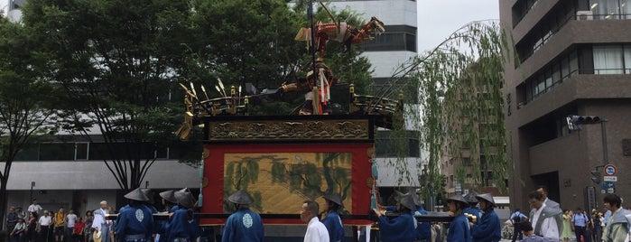 浄妙山 is one of 祇園祭 - the Kyoto Gion Festival.