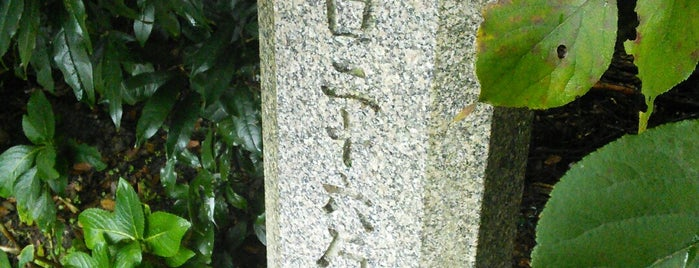 大津市人口二十六万到達記念植樹 is one of 近現代.
