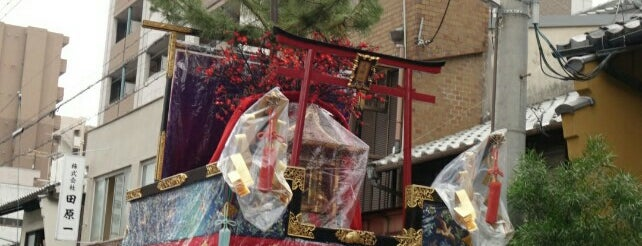 油天神山 is one of 祇園祭 - the Kyoto Gion Festival.