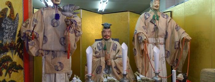 鷹山 is one of Sanpo in Gion Matsuri.