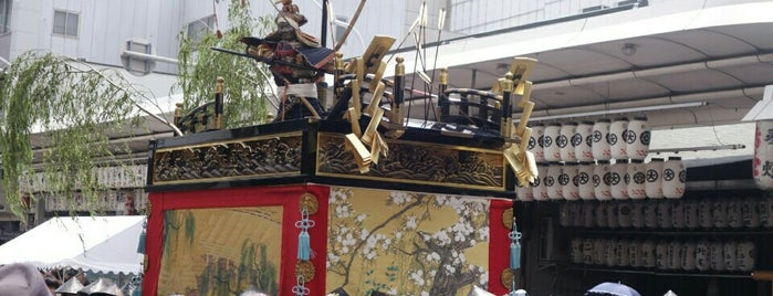 浄妙山 is one of 祇園祭 - the Kyoto Gion Festival.