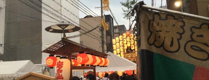 岩戸山 is one of Sanpo in Gion Matsuri.