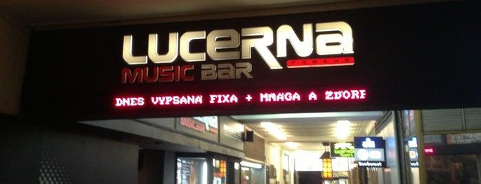 Lucerna Music Bar is one of Noční život.