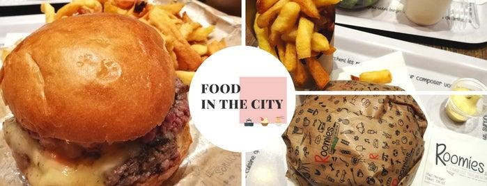 Roomies is one of Burgers in Paris.