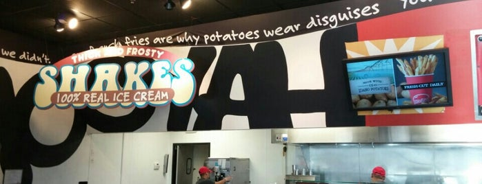 MOOYAH Burgers, Fries & Shakes is one of Dallas Restaurants List#1.