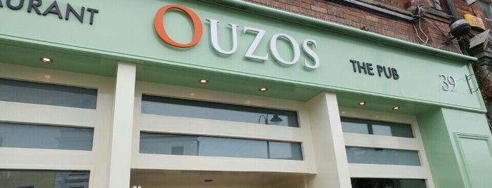 Ouzos Bar & Grill is one of Dublin Restaurants.