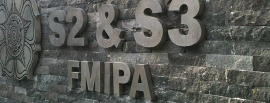 Gedung S2/S3 FMIPA UGM is one of UGM.