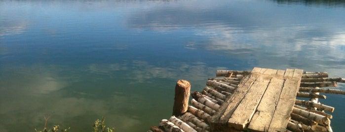 Озеро Изумрудное (Голубые Озёра) is one of загород.