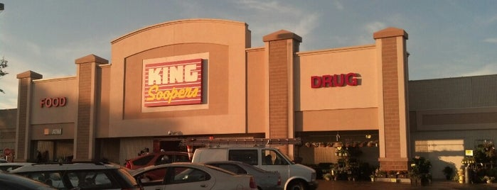 King Soopers is one of frequent places.