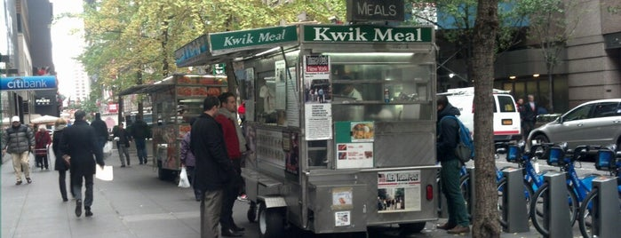 Kwik Meal Cart is one of USA NYC MAN Midtown West.