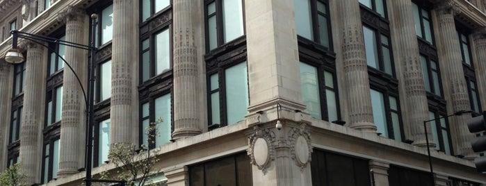 Selfridges & Co is one of London.