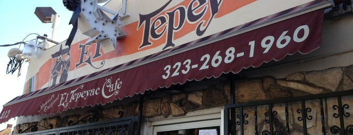 Manuel's Original El Tepeyac Cafe is one of LA: Central, East, Valleys.
