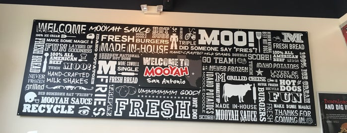 MOOYAH Burgers, Fries & Shakes is one of Miles List.