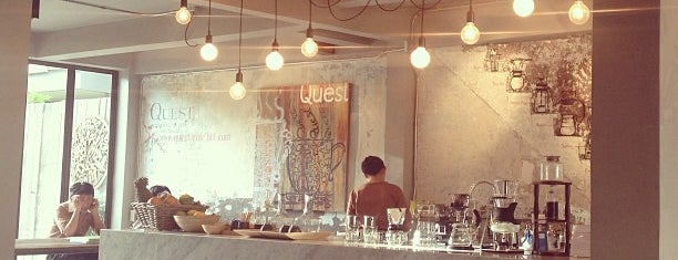 Quest Connaisseur Cafe is one of Bangkok.