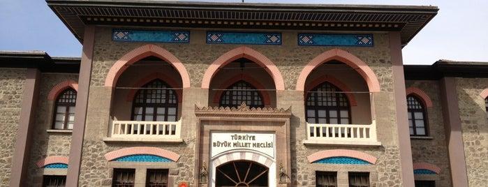 Cumhuriyet Müzesi (II. TBMM Binası) is one of 2018.