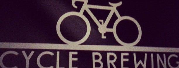 Cycle Brewing is one of Beer / RateBeer's Top 100 Brewers [2015].
