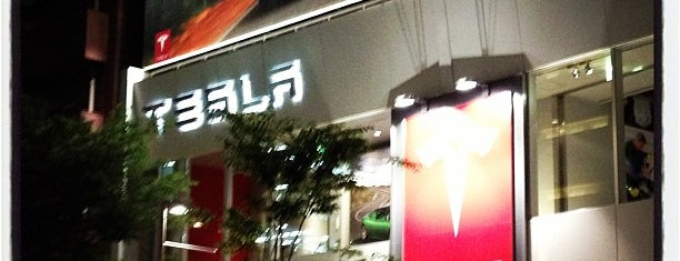 Tesla Motors テスラモーターズジャパン 東京 南青山 is one of VENUES of the FIRST store.