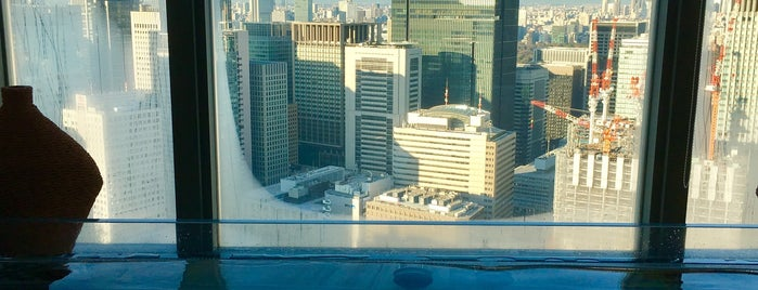 The Spa at Mandarin Oriental, Tokyo is one of staffのいるvenues.