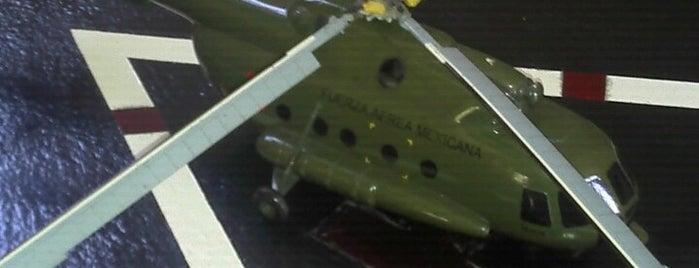 Museo del Ejército y Fuerza Aérea is one of Reto 100 ZMG.