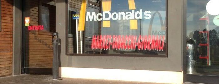 McDonald's is one of conosciuti.