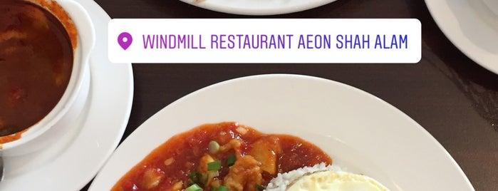 Restoran Windmill, AEON Shah Alam is one of jalan2 cari makan seksyen 13 shah alam.