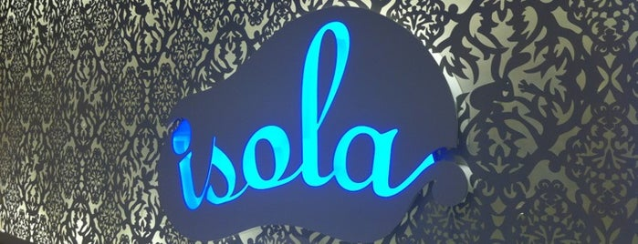 Isola Bar & Grill is one of <3. HK.