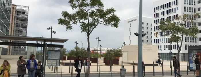 Station Euroméditerranée - Gantès [T2,T3] is one of Tramway de Marseille.