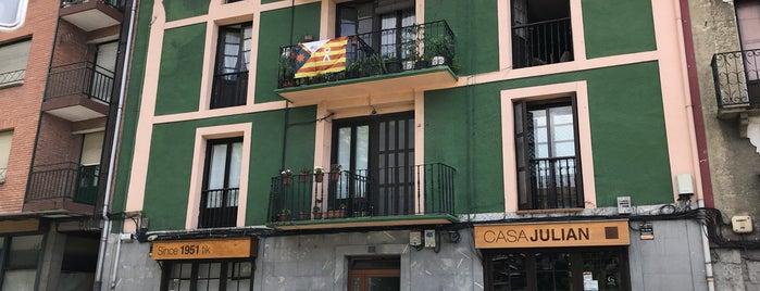 Restaurante Casa Julián de Tolosa is one of Restaurantes en Vitoria-Gasteiz.