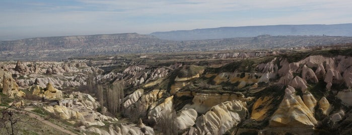 Pigeon Valley is one of Cappadocia.