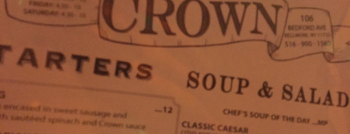 Crown Steakhouse is one of Long Island.