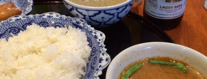メナムのほとり is one of カレーが好き☆*:.。. o(≧▽≦)o .。.:*☆.