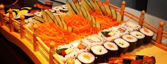 Sushi Boat is one of Sushi Floripa.