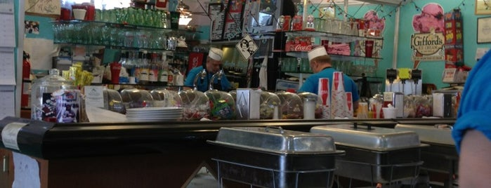 Mom and Pop's Soda Shop and Eatery is one of Diner, Deli, Cafe, Grille.