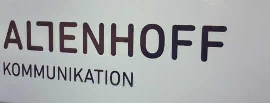Altenhoff Design is one of Agencies @ Düsseldorf.
