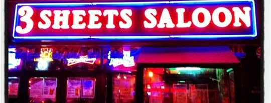 3 Sheets Saloon is one of 200+ Bars to Visit in New York City.