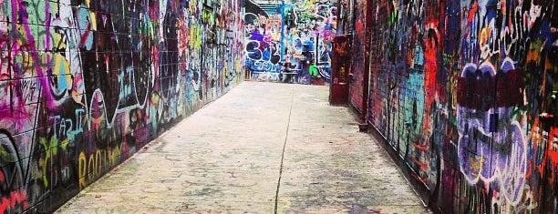 Graffiti Alley is one of Ann Arbor bucket list.