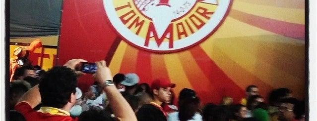 G.R.E.S. TOM MAIOR is one of Escola de Samba.
