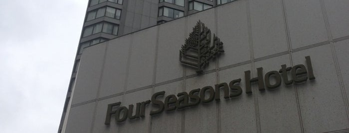 Four Seasons Hotel Vancouver is one of Vancouver Restaurants 1.